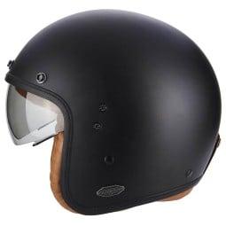 Motorrad helm Scorpion Belfast Luxe schwarz