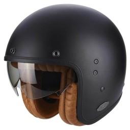 Motorcycle jet helmet Scorpion Belfast Luxe black