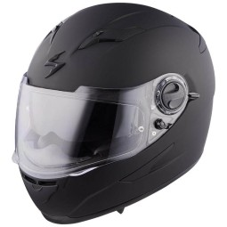 Casco Scorpion Exo-490 Solid nero opaco, Caschi Integrali