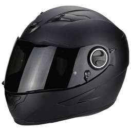 Motorcycle helmet Scorpion Exo-490 Solid matte black