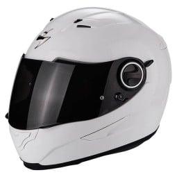 Casco de moto Scorpion Exo-490 Solid blanco ,Cascos Integrales