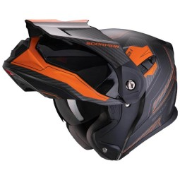 Casco de moto Scorpion ADX-1 Tucson negro naranja ,Cascos Enduro