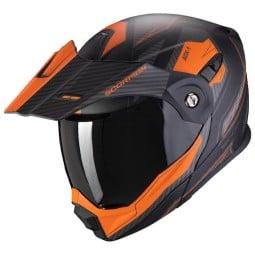 Casque Scorpion ADX-1 Tucson noir orange