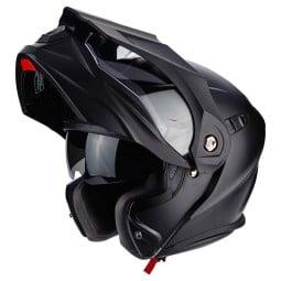 Motorrad helm Scorpion ADX-1 Solid Matt-schwarz, Endurohelme