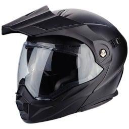 Motorrad helm Scorpion ADX-1 Solid Matt-schwarz