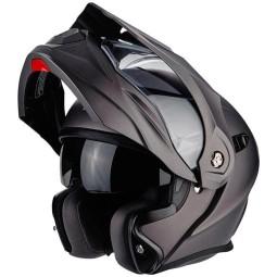 Motorrad helm Scorpion ADX-1 Solid anthrazit