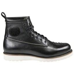 Zapatos moto John Doe Iron XTM negro