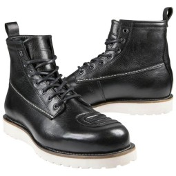 Zapatos moto John Doe Iron XTM negro, Zapatos Motos Urban