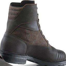 Zapatos moto TCX Rook WP marron