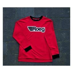 Maglia ROEG Moto Ricky rosso bianco, Felpe e Maglie