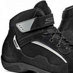 Sidi Duna Schuhe schwarz, Motorrad Touring Stiefel