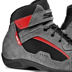Sidi Duna shoes grey red, Motorcycle Touring Boots