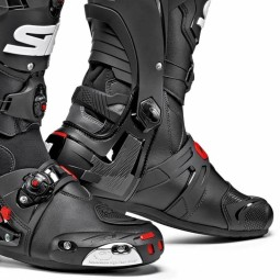Sidi Rex racing boots black, Motorcycle Racing Boots