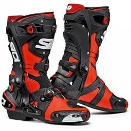 Botas moto Sidi Rex rouge negro, Botas Racing Motos