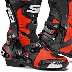Sidi Rex motorradstiefel rot schwarz