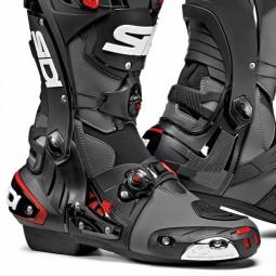 Sidi Rex boots grey black, Motorcycle Racing Boots