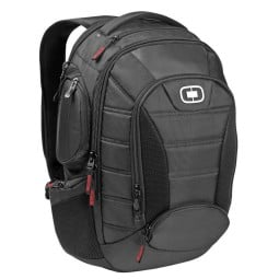 Motorcycle backpack Ogio Bandit 17 black, Bags and Backpacks