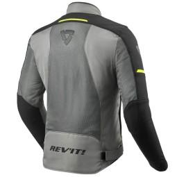 Giacca moto estiva Revit Airwave 3 grigio nero, Giubbotti e Giacche Tessuto Moto