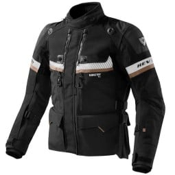 Giacca moto Revit Dominator GTX nero