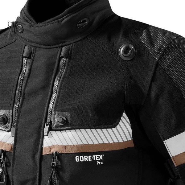 Chaqueta moto Revit Dominator GTX negro