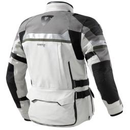 Motorrad-jacke Revit Dominator GTX grau grun ,Motorrad Textiljacken