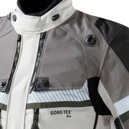 Chaqueta moto Revit Dominator GTX gris verde