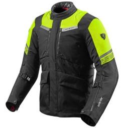 Revit Neptune 2 GTX jacket black yellow fluo, Motorcycle jackets