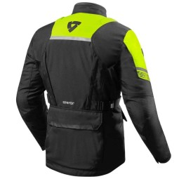 Revit Neptune 2 GTX schwarz neon gelb jacke ,Motorrad Textiljacken