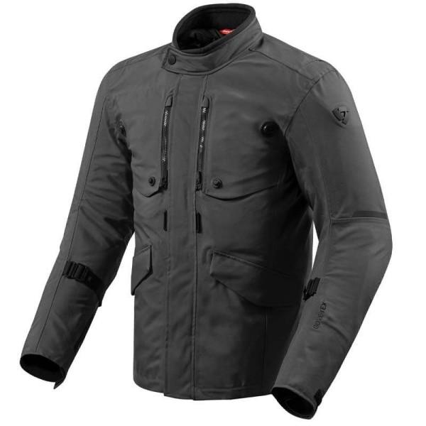 Revit Trench GTX motorcycle Jacket black