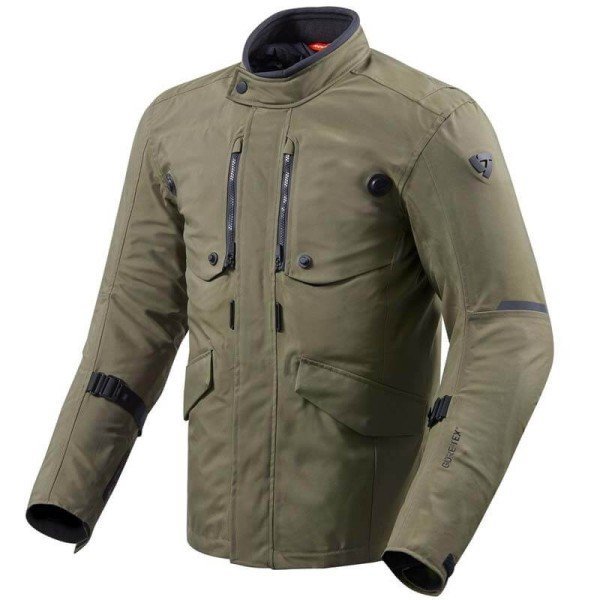 Revit Trench GTX grun jacke