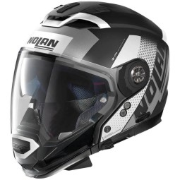 Nolan Modular-Helm N70-2 Gt Celeres black white