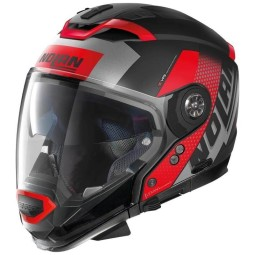 Nolan Modular-Helm N70-2 Gt Celeres black red