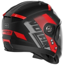 Casco modular Nolan N70-2 Gt Celeres black red