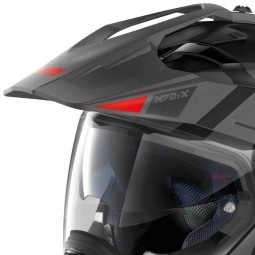 Casco modular Nolan N70-2 X Decurio black grey
