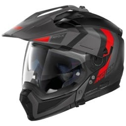 Modular-Helm Nolan N70-2 X Decurio black grey
