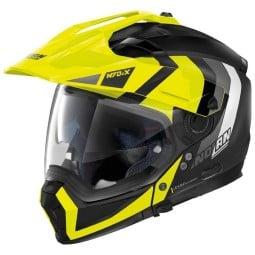 Casque modulable Nolan N70-2 X Decurio black yellow
