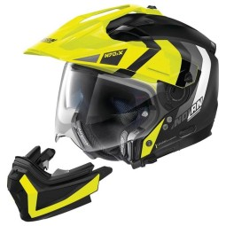 Casco modular Nolan N70-2 X Decurio black yellow