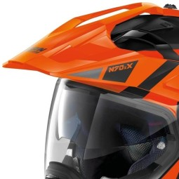 Nolan Modularhelm N70-2 X Decurio black orange