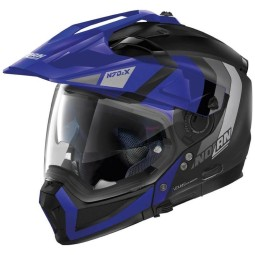 Casco modular Nolan N70-2 X Decurio black blue