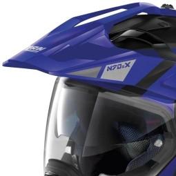 Nolan Modularhelm N70-2 X Decurio black blue