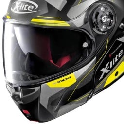 Klaphelm X-Lite X 1004 Dedalon carbonio black yellow