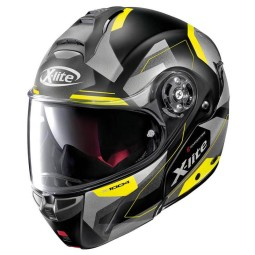Casque X-Lite X 1004 Dedalon carbonio black yellow