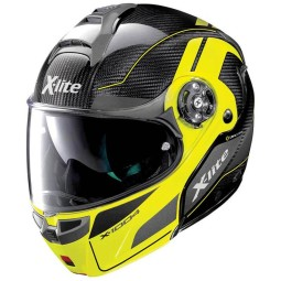 Casco X-Lite X 1004 Charismatic black yellow, Caschi Modulari