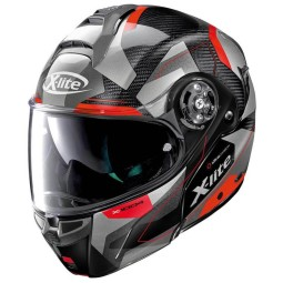 Casque modulable X-Lite X 1004 Dedalon black red