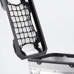 Red de tapa maletas laterales moto SW Motech Trax ADV negro, Accesorios bolsas