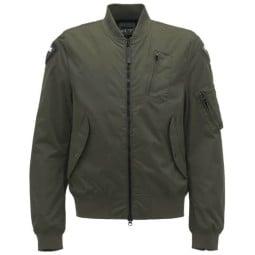 Blauer HT motorcycle jacket Maverick green, Motorcycle jackets