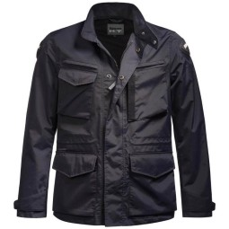 Blauer HT motorcycle jacket Ethan blue, Motorcycle jackets