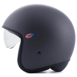 Jet Helmet Blauer HT Pilot 1.1 Monochrome titan matt