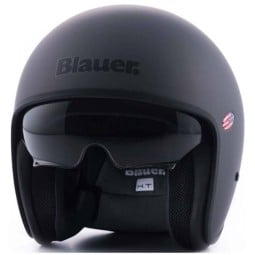 Jet Helmet Blauer HT Pilot 1.1 Monochrome titan matt, Jet Helmets