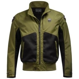 Blauer HT motorcycle jacket Thor Air green, Motorcycle jackets